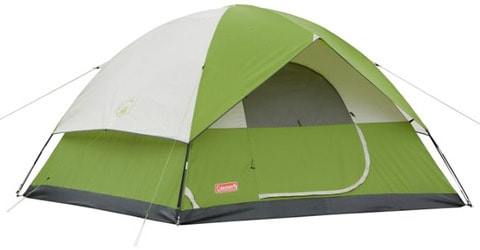 Coleman Sundome 6 (green) camping tent