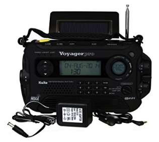 best emergency radio - kaito voyager pro