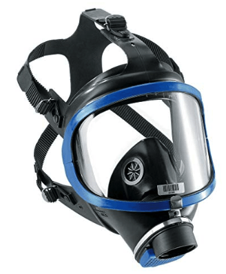 best gas mask - drager 6300
