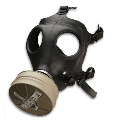 best gas mask - israeli rubber respirator mask