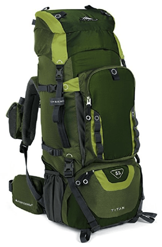best hiking backpacks - high sierra titan
