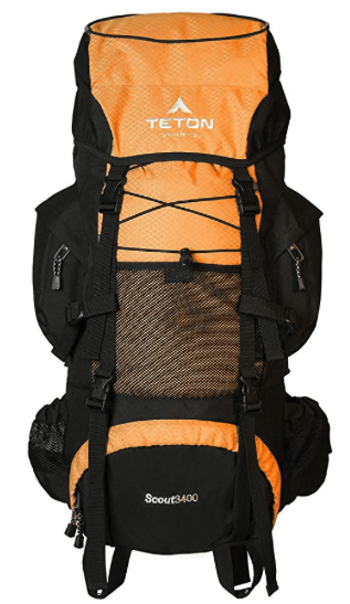 best hiking backpacks - teton sport scout 3400