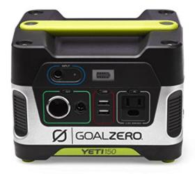 best portable generator - goal zero yeti 150