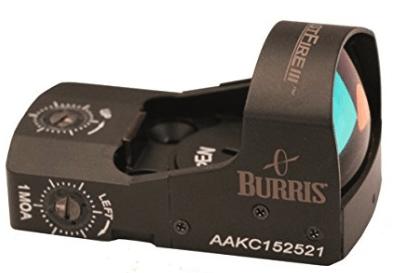 best red dot sight - burris fastfire III