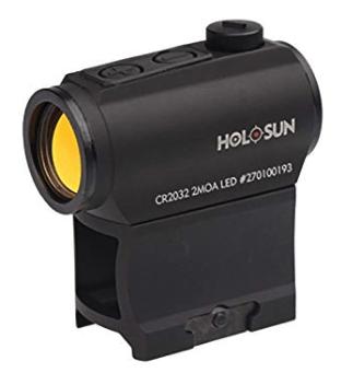 best red dot sight - holosun hs403a