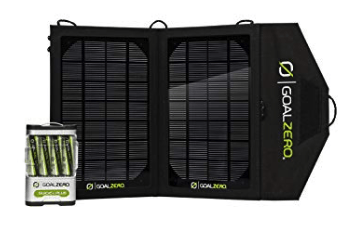 best solar charger - goal zero guide 10
