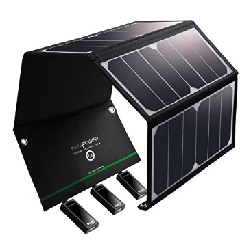 best solar charger - ravpower 24w