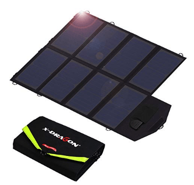 best solar charger - x-dragon