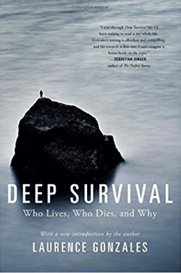 best survival books - deep survival