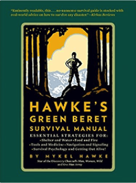 best survival books - hawkes green beret survival manual