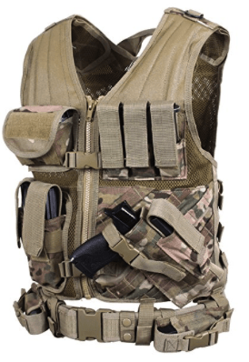 best tactical vests - rotchco cross draw